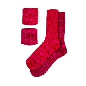 набор-полушерстяных-носков-красный