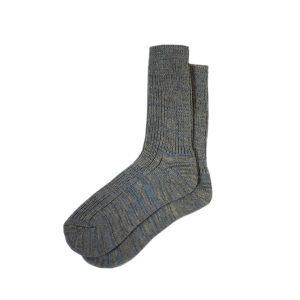 носки-полушерсть-серые