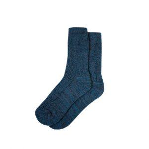 носки-полушерстяные-сапфировые