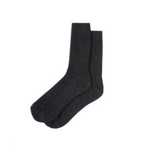 носки полушерстяные чёрные
