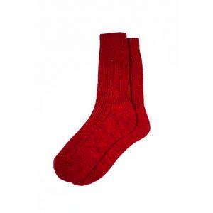 носки-полушерстяные-ярко-красные