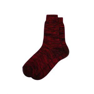 носки-хлопковые-базовые-красные