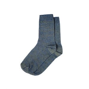 носки-хлопковые-базовые-полосатые-синие
