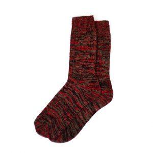 носки-шерстяные-бордовые