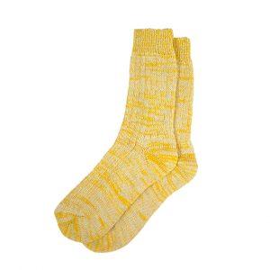 носки-шерстяные-желтые