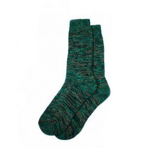 носки-шерстяные-зелёные