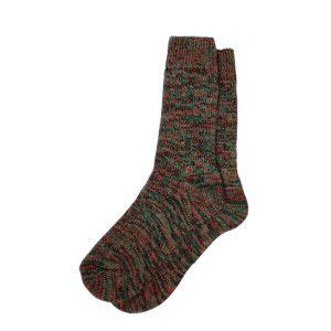 носки-шерстяные-красно-зелёные