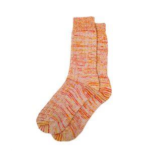 носки-шерстяные-оранжевые