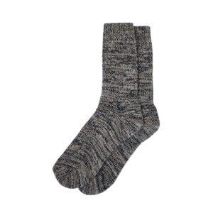 носки-шерстяные-тёмно-коричневые